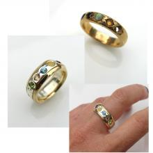 Creating new jewellery from old jewellery
